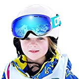 Ski Goggles Kids,COPOZZ G3 Kids Youth Girls Boys Ski Snow Snowboard Goggles