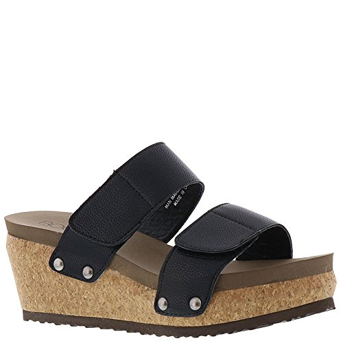 Corkys New Way Women's Sandal 8 B(M) US Black (Corkys Shoes Women Sandals)