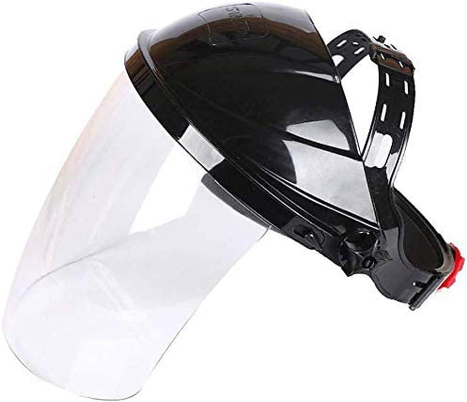 WANJIA Visera Protectora Cara, Protector de Cara Transparente de Seguridad Protección de los Ojos Protección de la Cara Visera Protección Facial Transparente para Uso en Laboratorio, hogar, Cocina