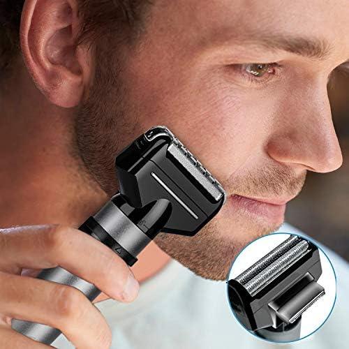 Cortapelos eléctrico para barba, afeitadora, nariz, oreja ...