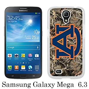 Great Quality Samsung Galaxy Mega 6.3 I9200 Case ,Southeastern Conference SEC Football Auburn Tigers 5 White Samsung Galaxy Mega 6.3 I9200 Cover Case Hot Sale Phone Case Unique And Beatiful Designed
