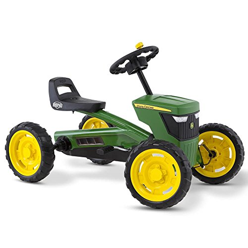BERG Toys Mountain 24.30.11.00 – Buzzy John Deere Go-Kart Ride-On