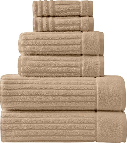 Luxury Bath Towel Collection Set - Ultra Absorbent and Plush