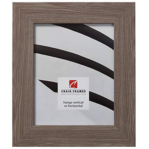 Craig Frames American Barn, Faux Barnwood Picture Frame, Farmhouse Grey, 24 x 32 Inch ()