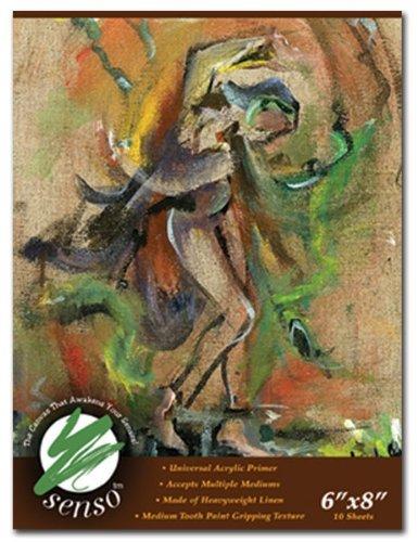 Senso Linen Canvas Pad 16x20