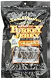 SnackMasters California Style Turkey Jerky, Original, 3.5-Ounce Packages (Pack of 8)