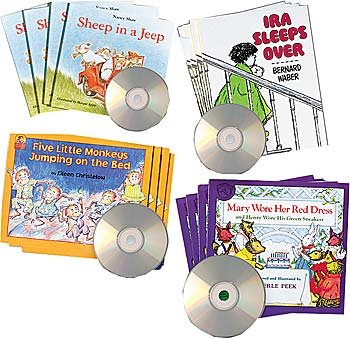 Read-Along/Listening Library Set 1 by Constructive Playthings