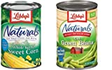 Libby's Naturals Cut Green Beans & Libby's Naturals Whole Kernel Sweet Corn Duo (8 Pack)