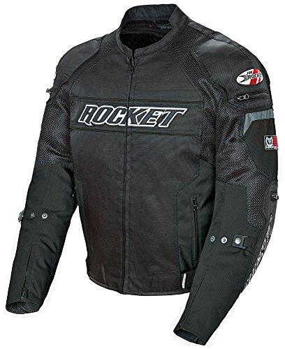 Joe Mesh Glove Rocket Black (Joe Rocket Resistor Men's Mesh Motorcycle Jacket (Black/Black, X-Large))
