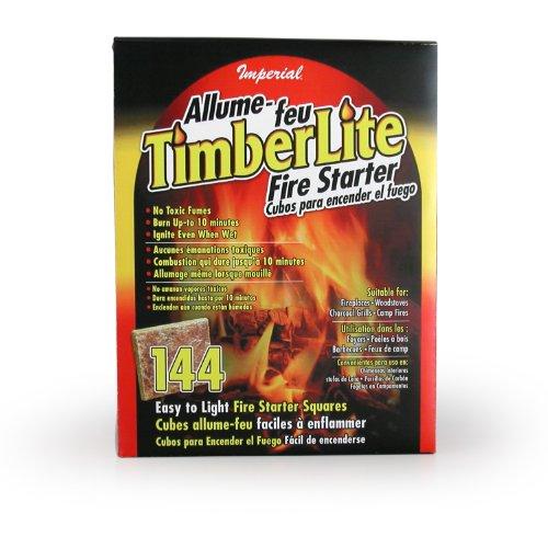 (Imperial Timberlite Fire Starter, 144 Squares, KK0313)