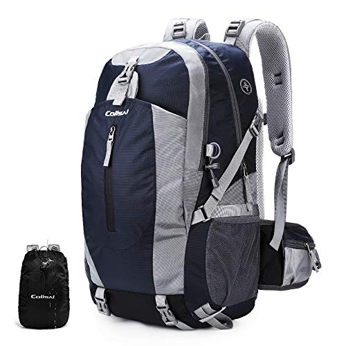 Colisal Wanderrucksack Herren 40L Trekking Rucksack Damen Wandern Rucksack mit Regenschutz Camping Rucksäcke für Outdoor…
