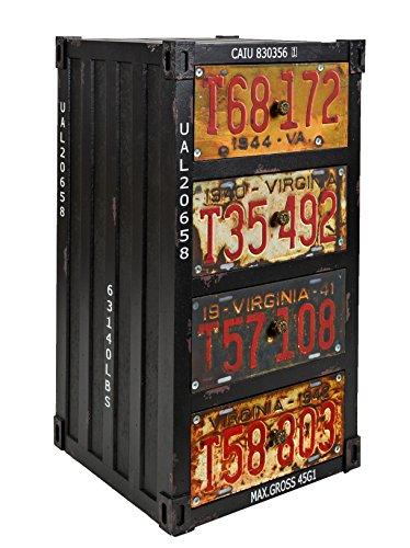 ts-ideen-Regal-Kommode-Schrank-im-Container-Industrie-Design-Shabby-Schwarz-Metall-Optik-Vintage-Stil-zu-Aufbewahrung-im-Flur-Wohnzimmer-Bro-oder-im-Badezimmer