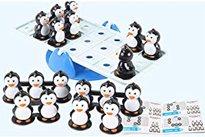 Sharplace Juego de Mesa Balancín de Pingüino Juguete para ...
