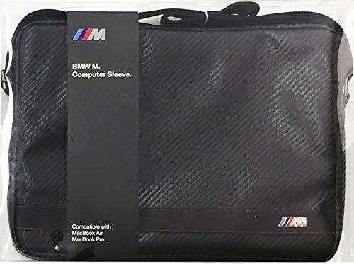 "BMW M Series BMCS13MCC 13/"" Macbook Pro Air  SLEVE CARBON EFFECT BLACK STRIPE"