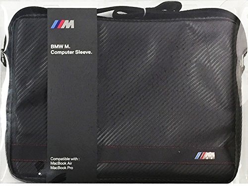 "BMW Signature Collection Computer Sleeve 13"" Carbon Effect - Black (BMCS13MCC)"