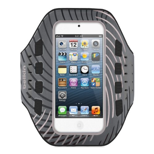 Belkin Pro-Fit Armband for Apple iPod touch 5th Gen (Black and White)