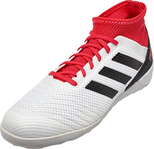 Adidas Originals para Hombre Ace Tango 18,3 en, White/Core Black/Real Coral, 7 M US