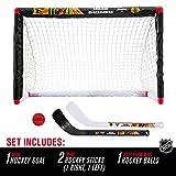 Franklin Sports Chicago Blackhawks Mini Hockey