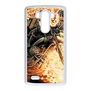 LG G3 Cell Phone Case White_Ghost Rider and Company Blohz