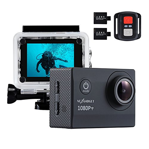 NEXGADGET WIFI Action Cam, DISCOVER-1012FS SERIES 12MP 1080P