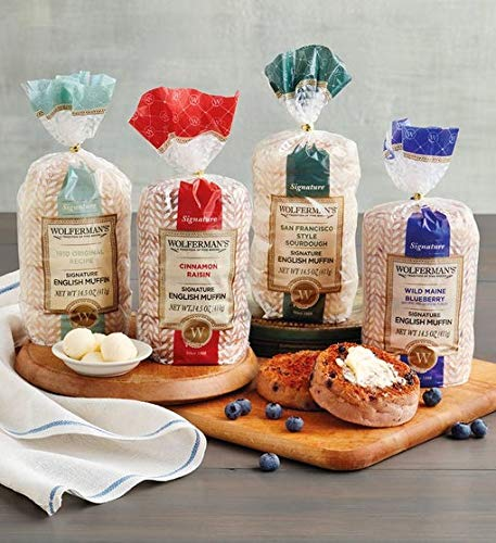 - Wolferman's English Muffin Favorite Flavors Sampler