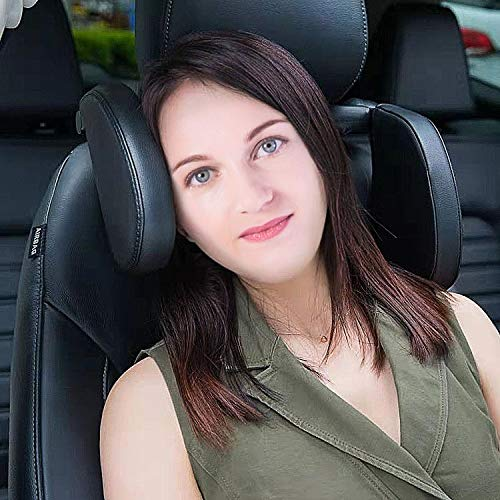 XBB Neck Rest for Car, Functional Travel Car Accessories and Seatbelt Pillows Perfect for Adults, Booster Seat Head Support and Neck Support for Car Great for Kids