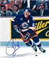 Phil Housley autographed 8x10 Photo (Winnepeg Jets) - Autographed NHL Photos