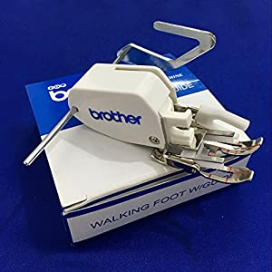YEQIN Open Toe Walking Foot for brother Even Feed Foot F033N F033 XC2214002 Pressure Foot by YEQIN