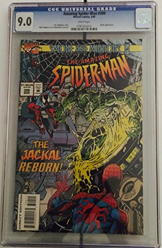 The Amazing Spider-man #399 CGC 9.0 VF/NM - White Pages - Copper Age - Jackal appearance - First Print