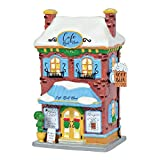 Department 56 Peanuts Village Snoopy's Root Beer Café Lit Building, 8.25'', Multicolor