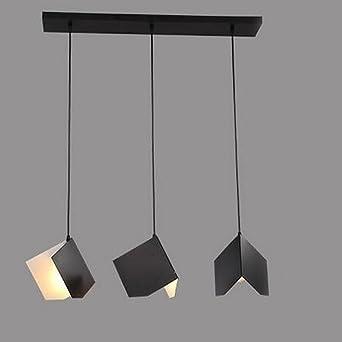 Moderne Pendelleuchte Einfache Mode Origami Bücher Form Metall ...
