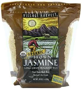 Amazon.com : Village Harvest Organic Brown Thai Jasmine