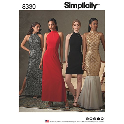 Simplicity Creative Patterns US8330D5 Special Occasion Sewing -