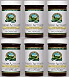 Naturessunshine Thyroid Activator Support Thyroid Gland HerbalCombination Supplement 100 Capsules (Pack of 6)