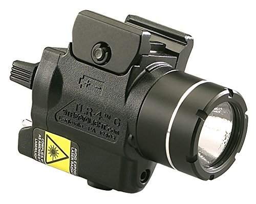 Streamlight 69247 TLR-4G H&K USP Full Size Rail Mounted Tactical Light with Integrated Green Laser and CR2 Lithium Battery (Streamlight Tlr 4)