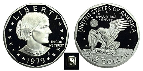 1979 S Susan B. Anthony Proof Dollar Dollar Perfect Uncirculated US ()