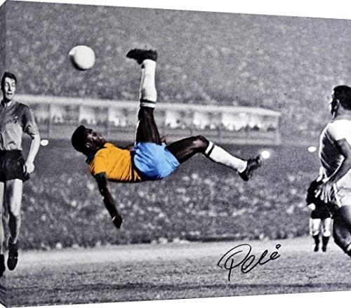 Pele Autograph Replica Print: Football Wall Mural