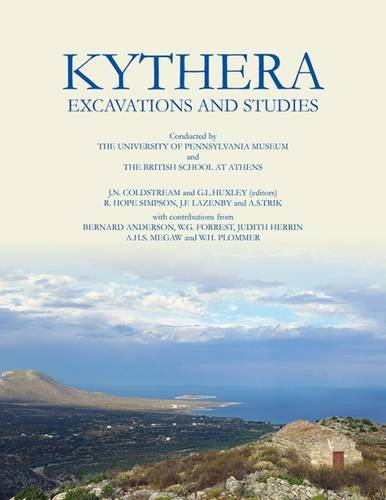 Kythera Excavations and Studies