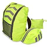 Navaris Raincover Set for Helmet Backpack - Helmet Cover...