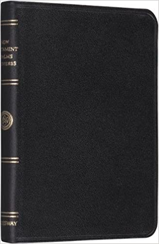 ESV Pocket New Testament with Psalms and Proverbs (Black