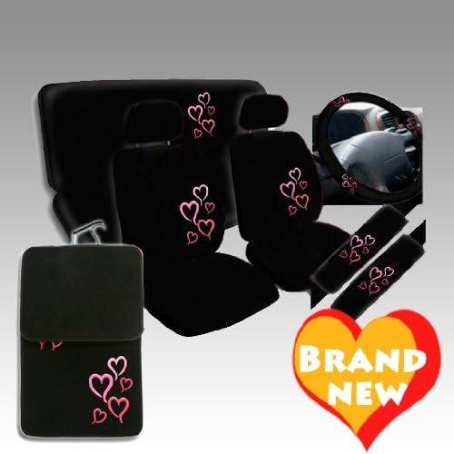 15PCS LOVESTORY CAR SEAT COVER & FLOOR MAT SET