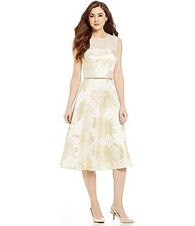 4d25e0764f9 Antonio Melani Chelsea Floral Fit-and-Flare Sleeveless Popover Jacquard Dress  6