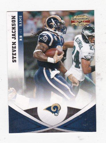 Steven Jackson St. Louis Rams (Football Card) 2011 Panini Gridiron Gear ()