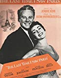 The Last Time I Saw Paris (MGM Pictures, Van Johnson & Elizabeth Taylor)