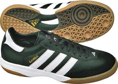 Adidas Prestaties Heren Samba Millennium Indoor Voetbalschoen Zwart / Wit