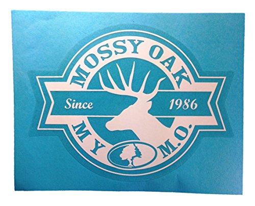 Mossy Oak Camo Window Decal Deer Sticker 4 X 6 Mossy Oak Camo Deer Window Decal Plus Free Bonus Decal