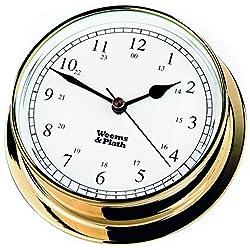 Weems & Plath Endurance Collection 125 Quartz Clock (Brass)