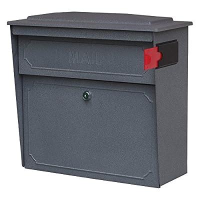 Mail Boss 7173 Townhouse Locking Wall Mount Mailbox
