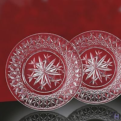 Waterford Snow Crystals Accent Plate (One Pair)