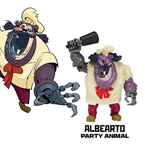Rise of the Teenage Mutant Ninja Turtle Albearto Action Figure]()